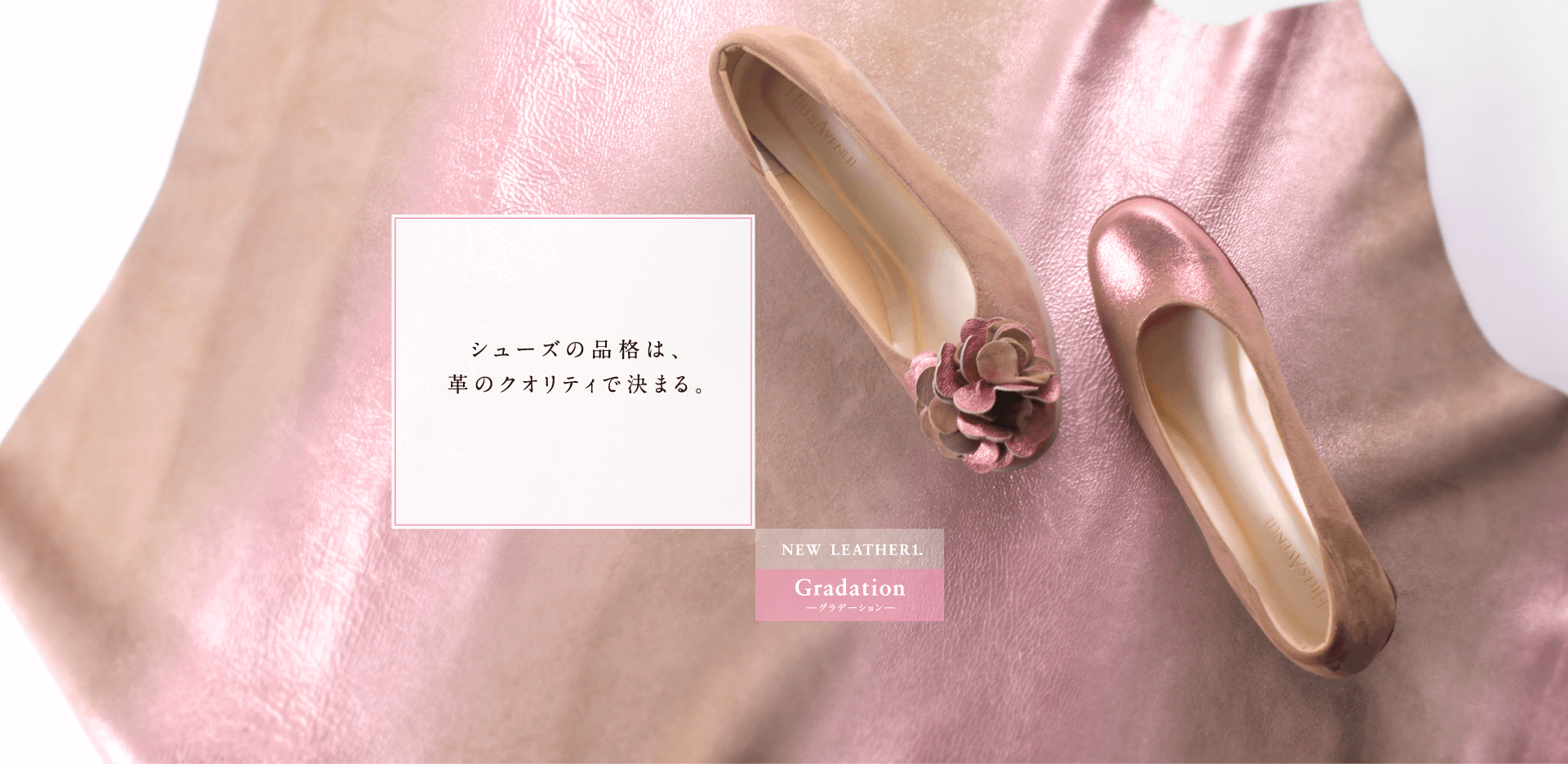 NEW LEATHER1. Gradation - グラデーション