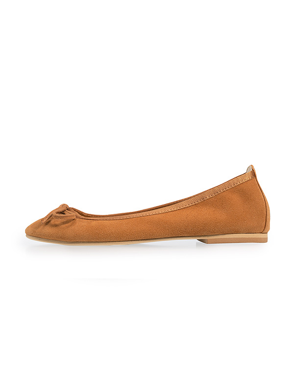 【2足で10%OFF】Leather Ballerina