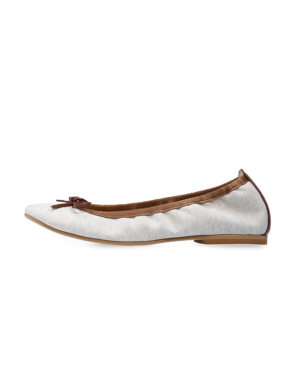 【2足で10%OFF】Canvas Ballerina