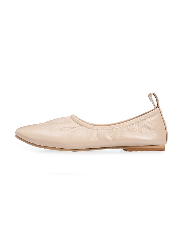 【送料無料】Soft Leather Ballerina