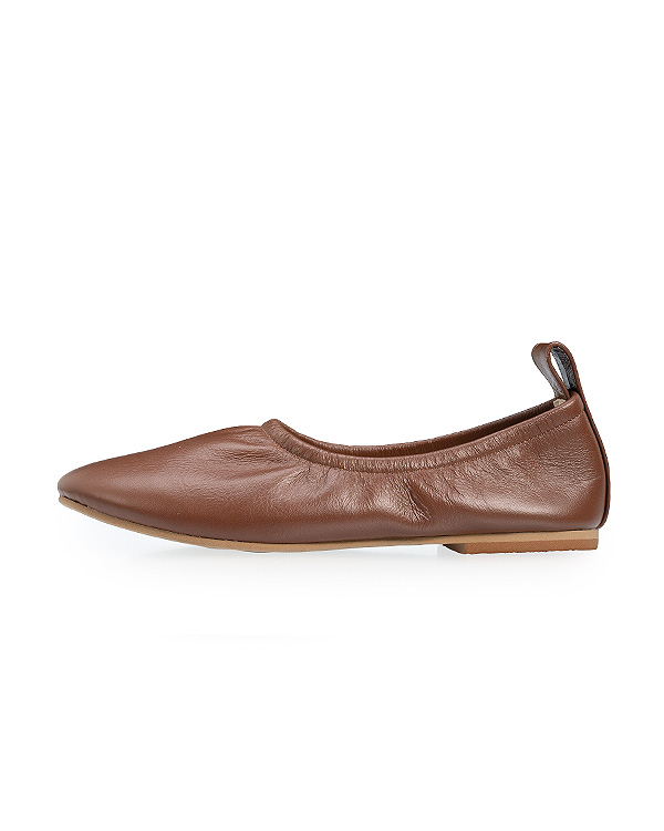 【会員15%OFF】【送料無料】Soft Leather Ballerina
