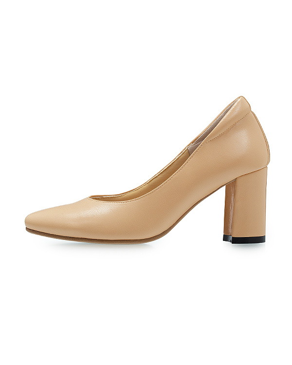 【2足で10%OFF】Plain Pumps