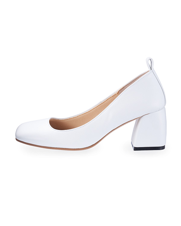 【送料無料】Square Plain Pumps